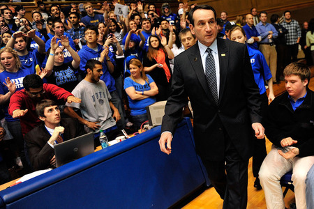 Coach K Endorses All-In NCAA Tournament