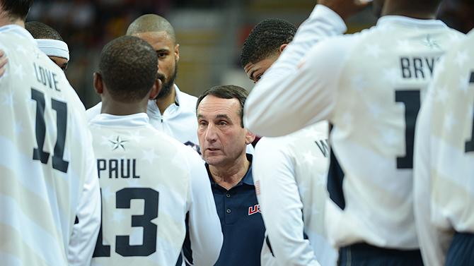 Gold Standard: When Coach K Talks….NBA Players Listen
