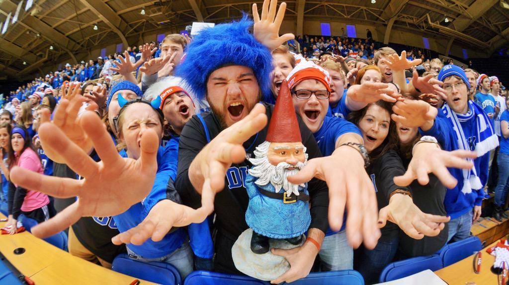 A little Fun with @Roaming Gnome Before Duke – UNC
