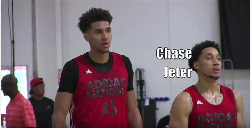 @chasejeter04 Goes to Work at Adidas Nations!