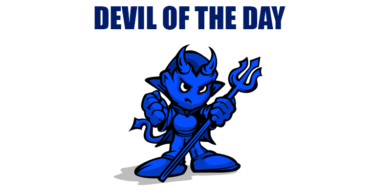 Devil of the Day vs App State by @WeingartenJake