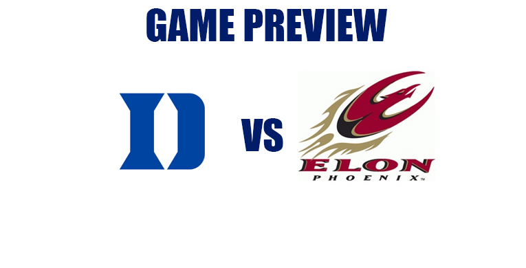 Mini-Game Preview – Blue Devils vs. Elon Phoenix – Wednesday December 21