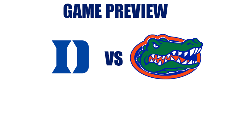 Game Preview by @RandyDunson – Duke Blue Devils vs. Florida Gators (Jimmy V Classic)