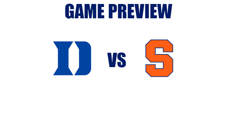 Preview: Duke Blue Devils (22-5, 10-4) @ Syracuse Orange (16-12, 8-7)