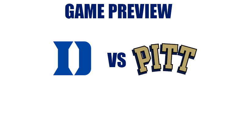 Abbreviated Game Preview by @RandyDunson – Duke Blue Devils vs. Pittsburgh Panthers