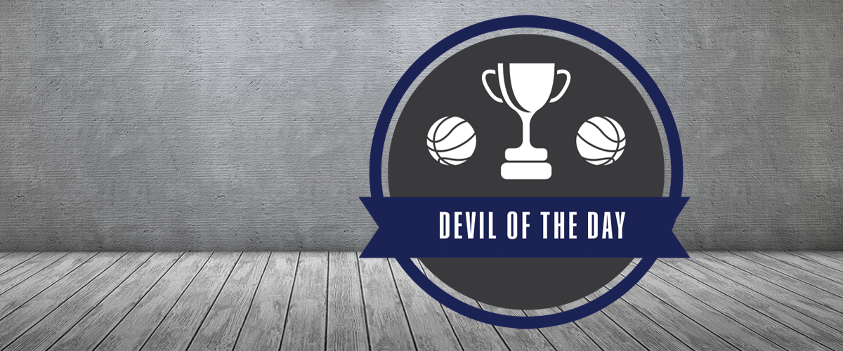 Devil of the Day vs the Eastern Michigan Eagles: The Blue Devil Bench