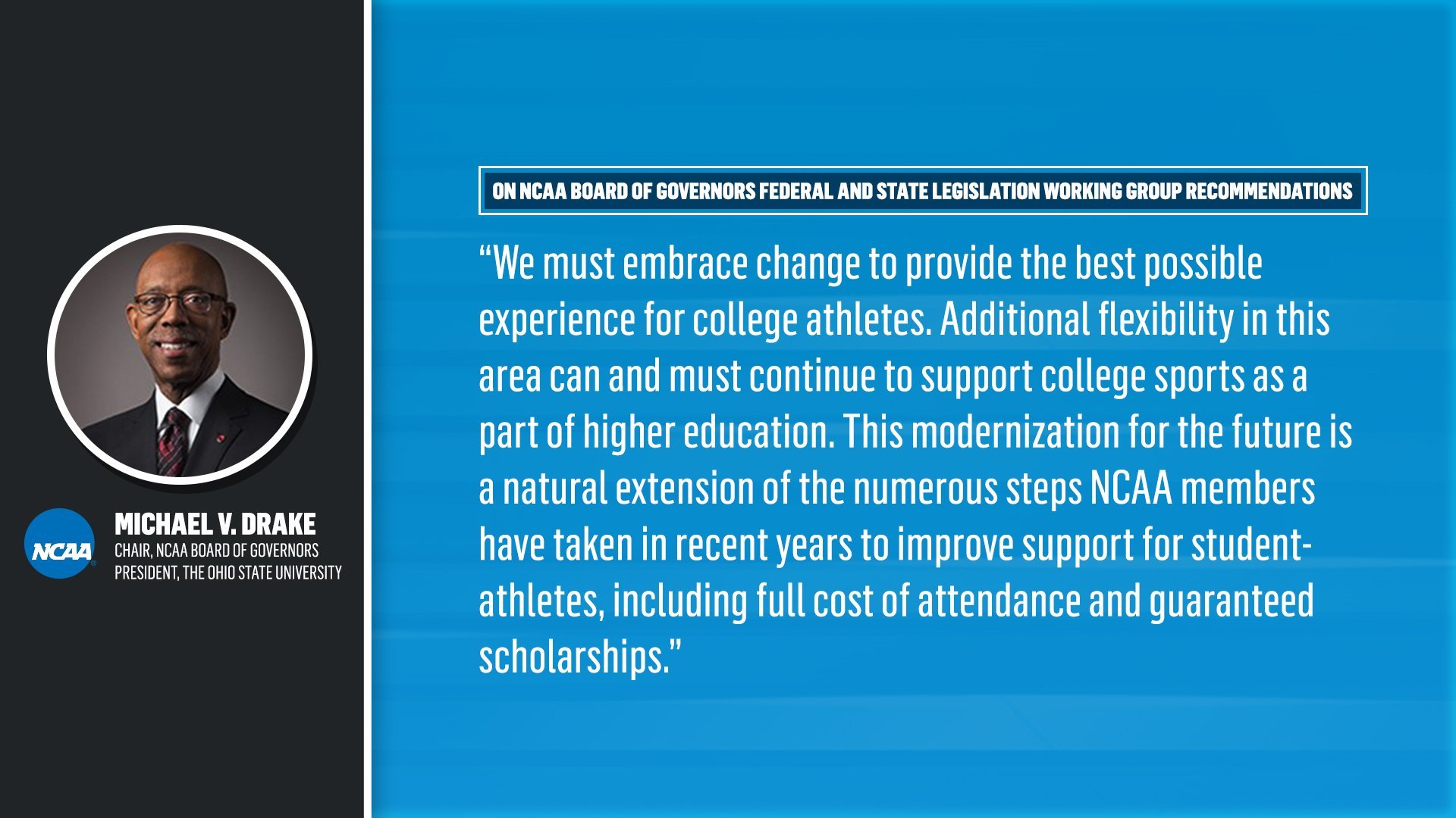 NCAA Begins Process to allow Student-Athletes to Profit from Name, Image & Likeness