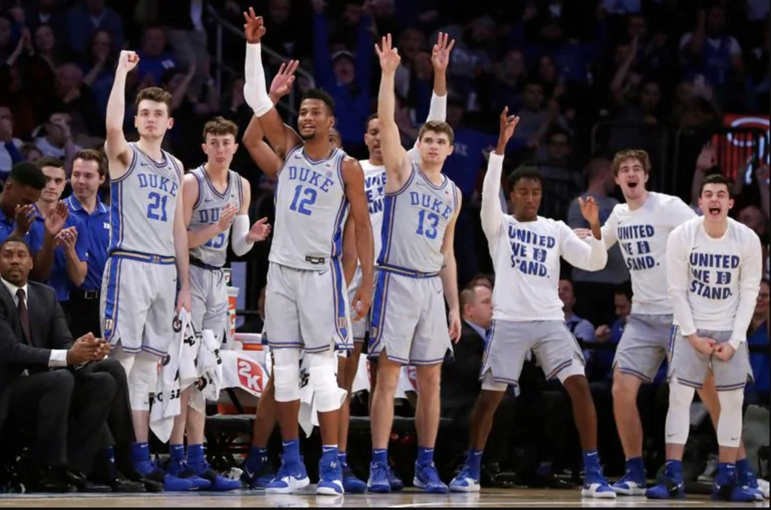 Duke Blue Devils Name 2019-20 Men's Basketball Team Awards