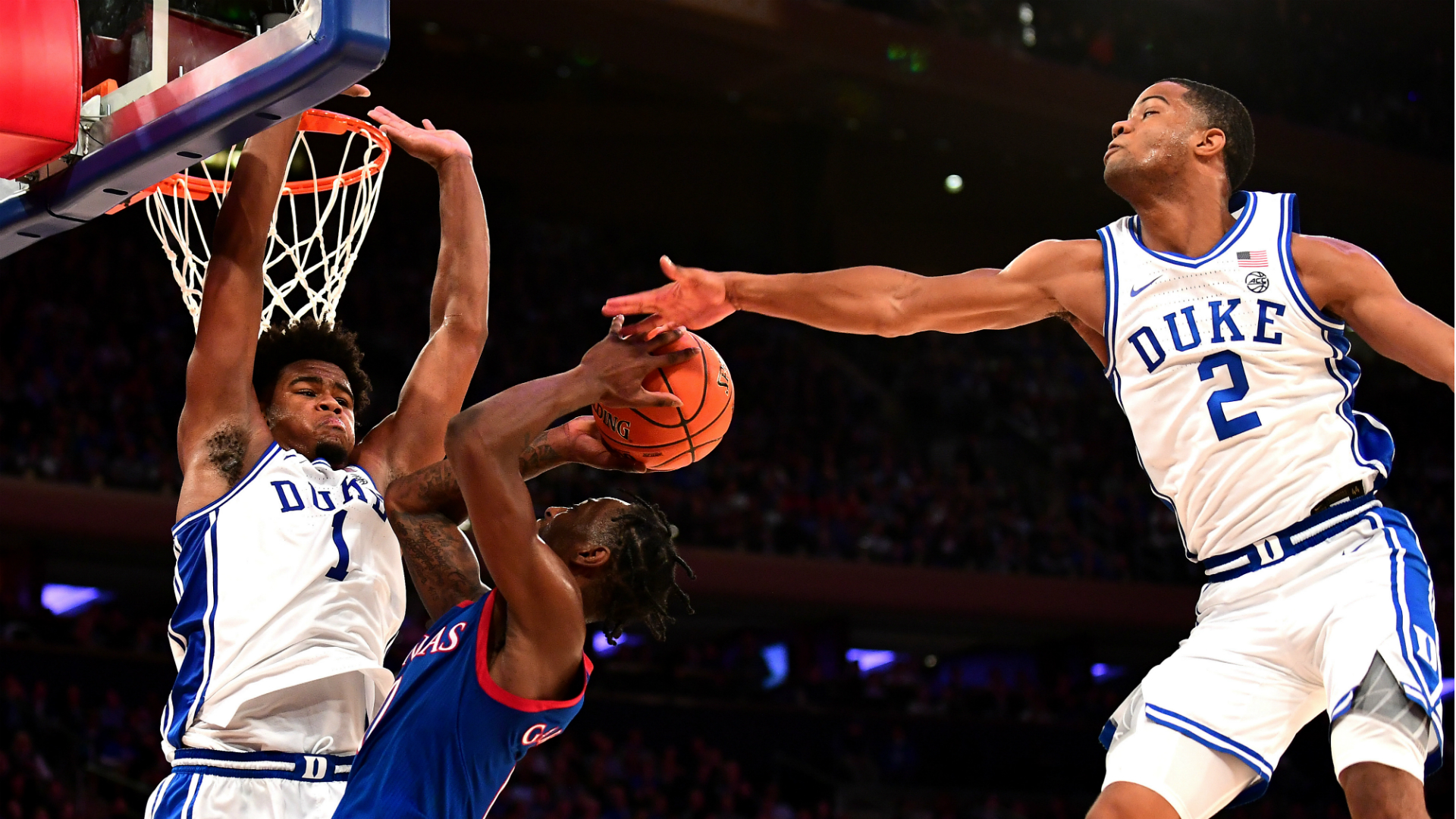 Post Game: Duke Inches Past Kansas 68-66; Jones w/ 15 points, 7 Assists; Stanley scores 13 in Debut
