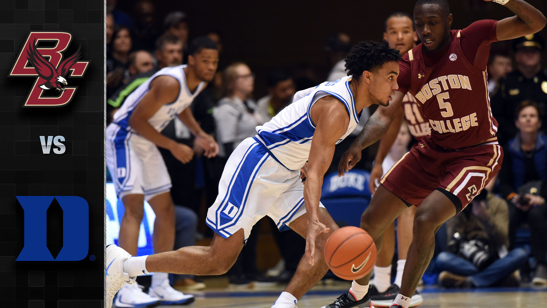 Duke Crushes Boston College by 39 ( 88-49  ) Matthew Hurt scores 25; Jones with 10 assists