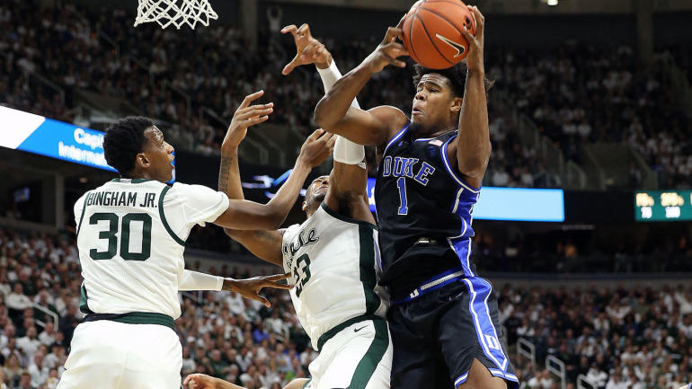 Duke Shuts Down Michigan State 87-75; Carey Jr. Scores 26; Jones with 12 Assists