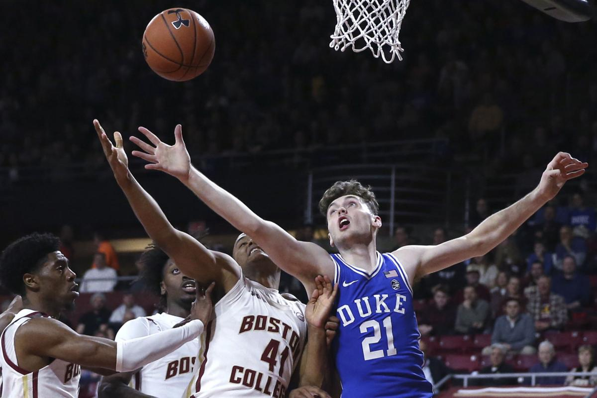 Cold Shooting Blue Devils Rally Late over Boston College 63-55; Jones scores 18; Carey Jr. scores 17