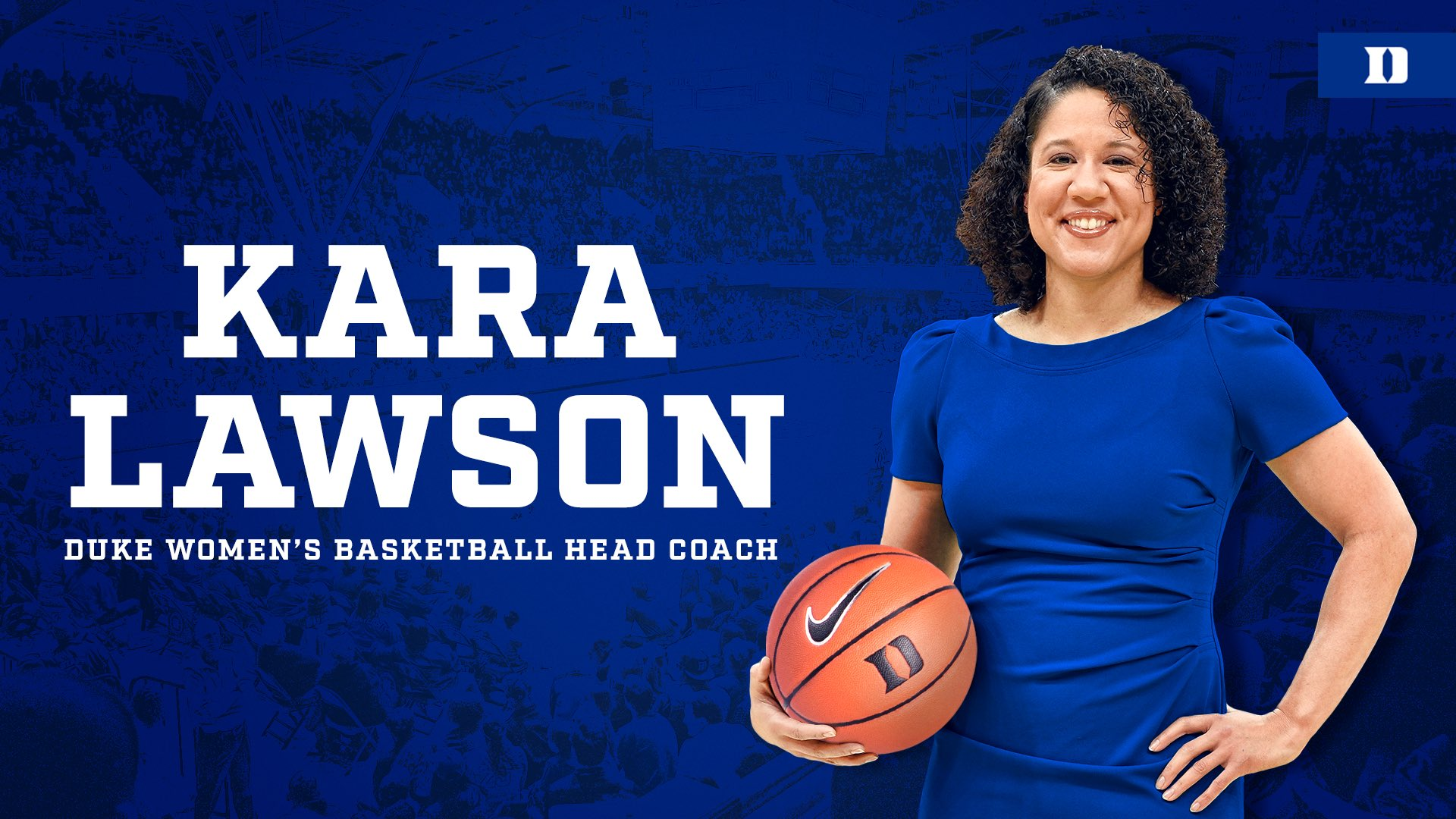 Yessir! Kara Lawson Named Duke Women's Coach
