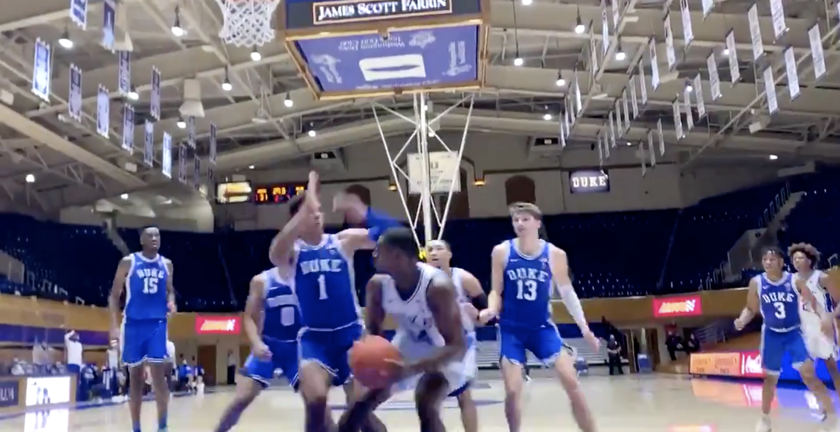 Highlights of Duke Basketball's second team scrimmages of the 2020-21 season