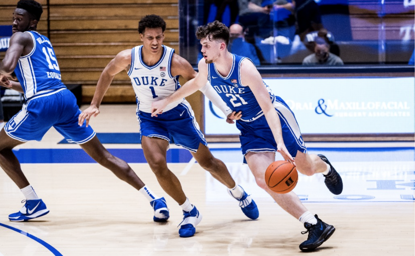 Blue Devils Hold First Scrimmage Friday Night