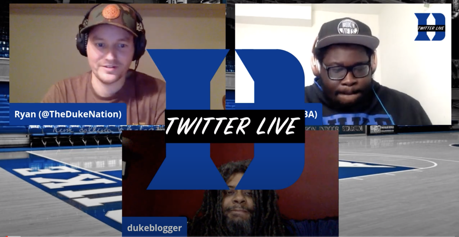 The guys at @DukeTWTLive invite me into their world to talk about the loss to MSU