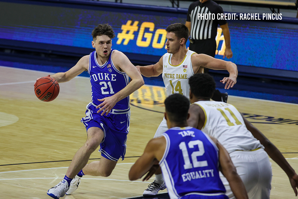 Duke Handles the Irish 75-65; Matthew Hurt Scores 18; Jaemyn Brakefield Scores 10 off the Bench