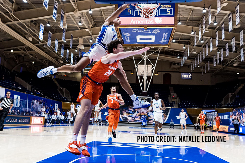 Duke Blows Out Clemson for 2nd Straight Win; 79-53
