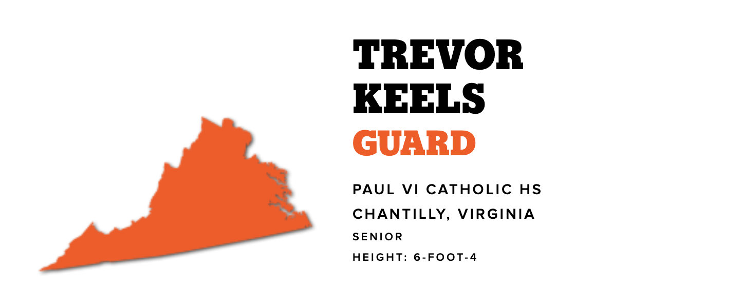 Congrats to Trevor Keels on Being Named Gatorade Player of the Year in Virginia
