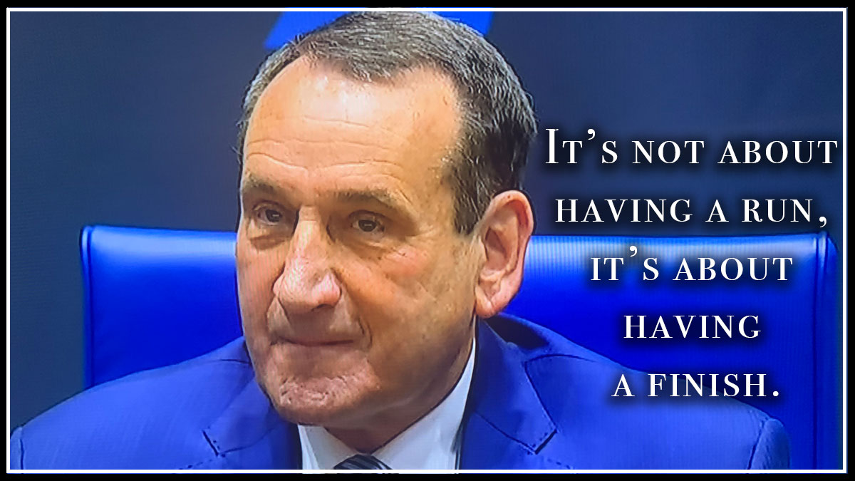 My Takeaways from Coach K Retirement Press Conference