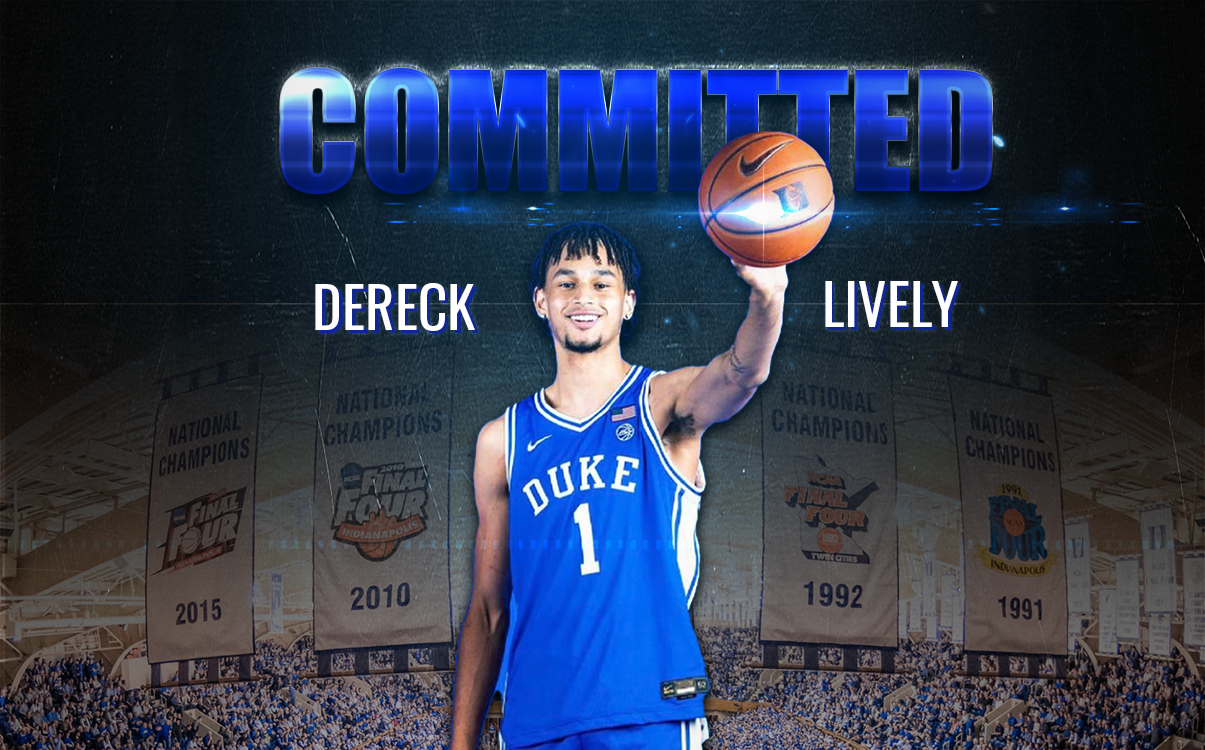 Dereck Lively (@dereckl41) Commits to the Blue Devils, #2 Ranked Prospect in 2022